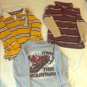 Long sleeve 4T boys bundle